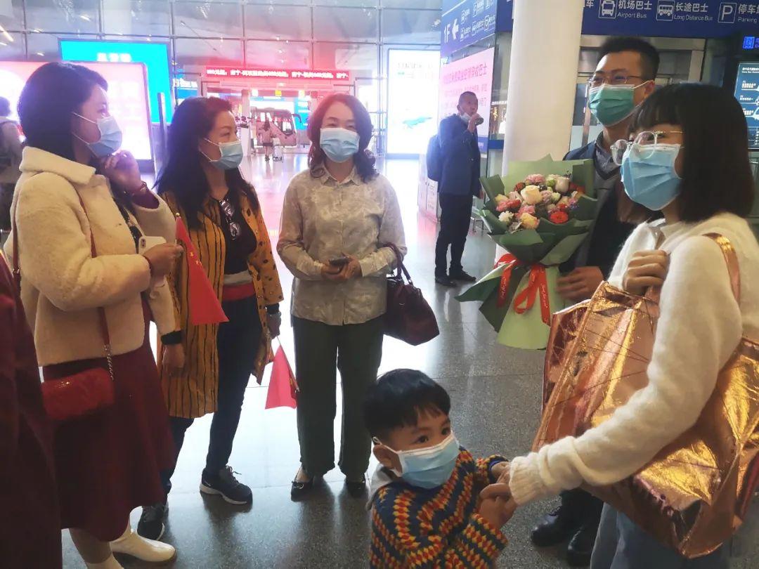 广西江滨医院康复治疗师王毅平安归来