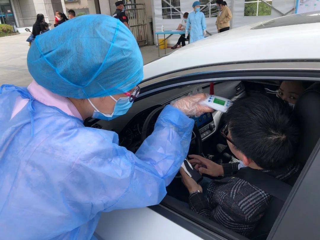 俞迪英:守好疫情防控的「 第一道防线」