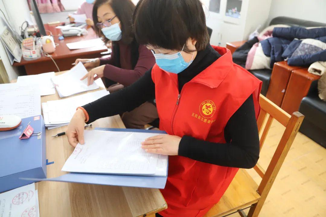 郭家屯中学教师志愿者积极协助玉田县中医医院开展疫情防控工作