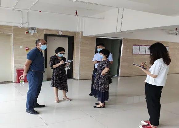 罗湖区卫生健康局、罗湖区疾控中心专家来教学中心督导
