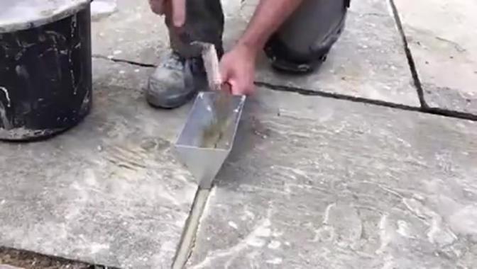 地砖填缝工具,填的很整齐还好用