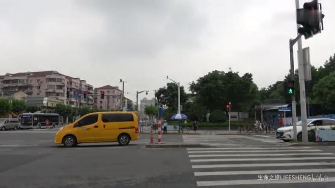 中兴路 步行&街拍 至 西藏北路 地铁8号线 中兴路站 静安区 上海