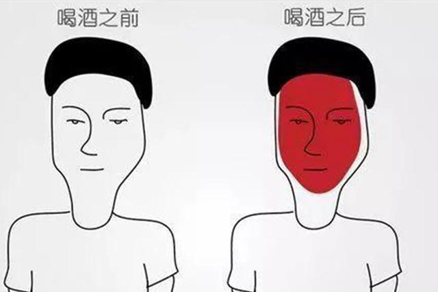 酒问|喝酒脸红是什么原因?一喝酒就脸红的人,说明酒量好?