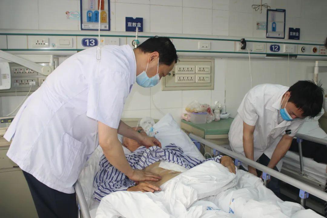 华润武钢总医院肝胆外科成功「拆弹」七旬老人脾脏、胰腺巨大肿瘤