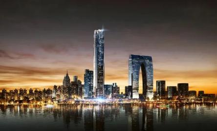 苏州中南中心的开工建设将为苏州打开时代新技能全是他篇!