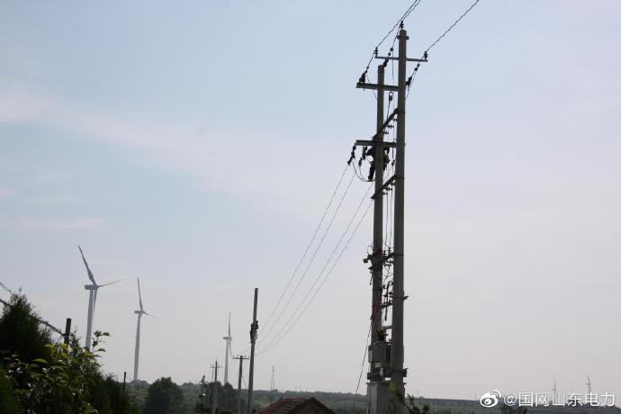 侯家镇汤家村低压线路进行升级改造