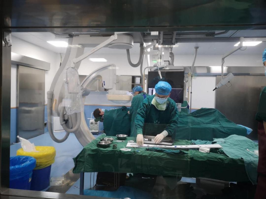 绵阳市第三人民医院「定心神针」 一针封堵心脏房间隔缺损