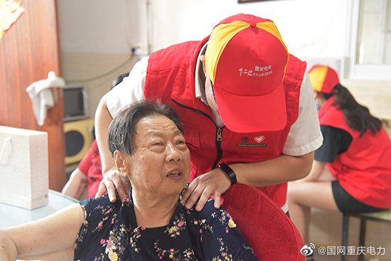 兴源公司赴江南敬老院开展关爱老人活动