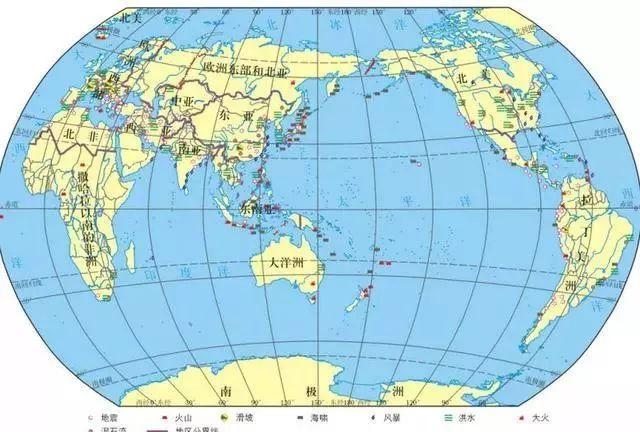 地理必修一知识点总结(必修一地理各章框架图)