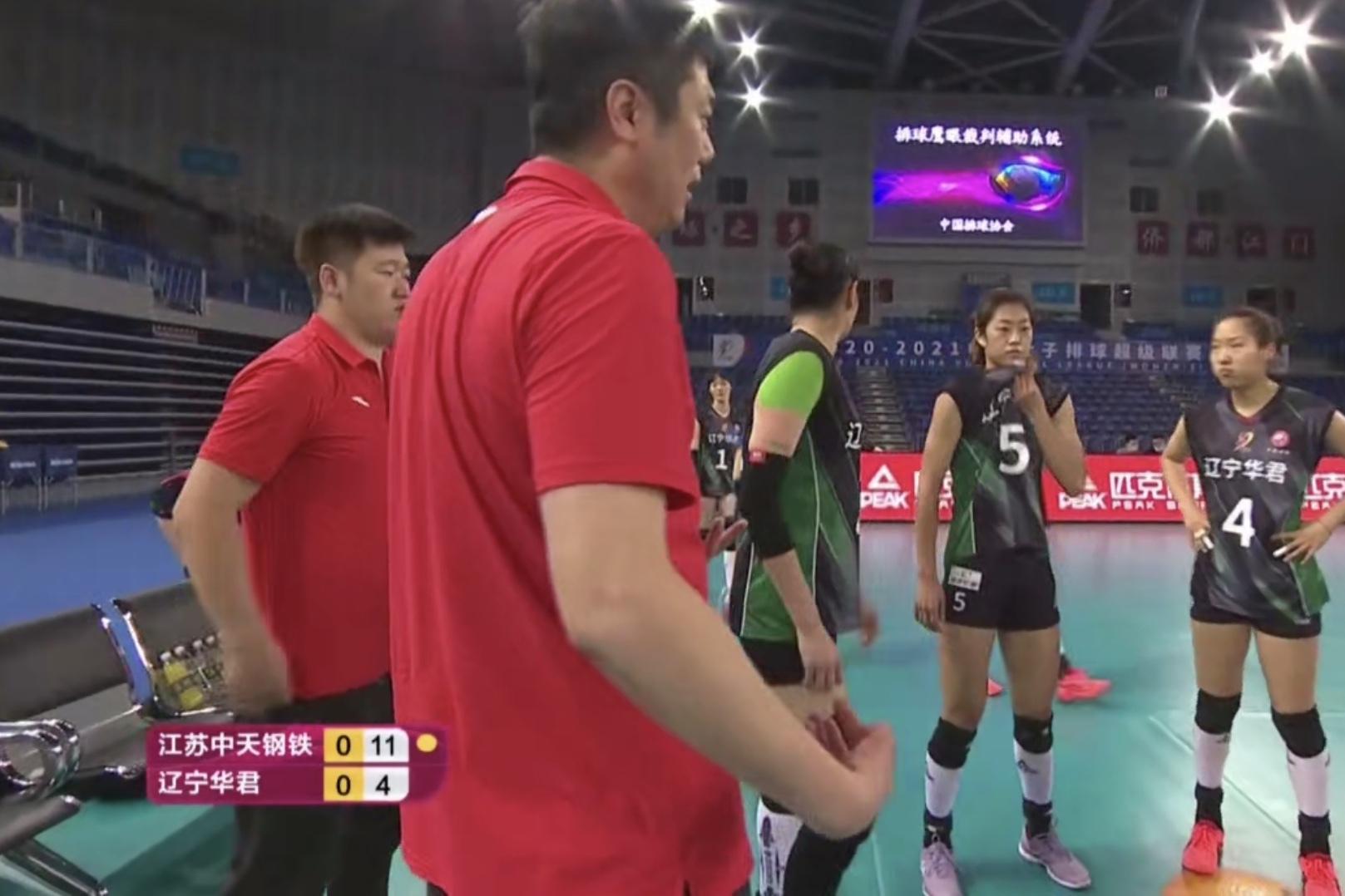 1-3!辽宁不敌江苏吞六连败,关键球赵勇丧失挑战机会