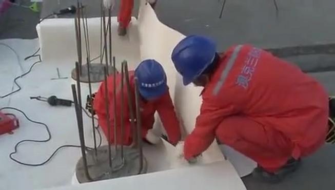 地下室高分子自粘胶膜防水卷材,施工工艺及质量控制视频讲解!