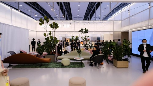 2021,冠臣品牌全面战略升级,惊艳亮相第47届中国(广州)国际家具博览会
