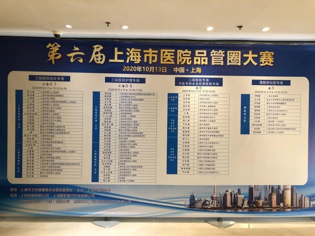 上海市长宁区妇幼保健院喜获上海市第六届品管圈大赛一等奖