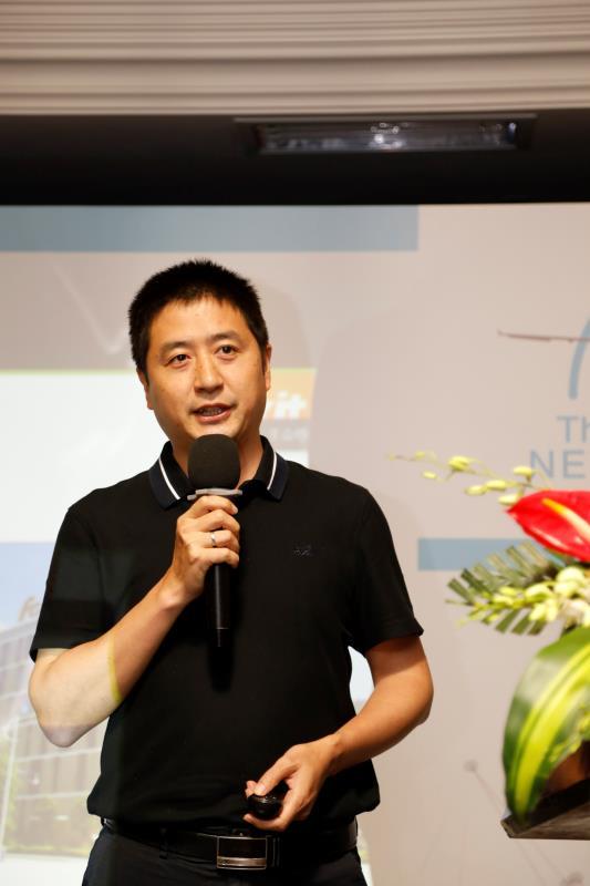 福昕中國區總經理劉文化發表主題演講