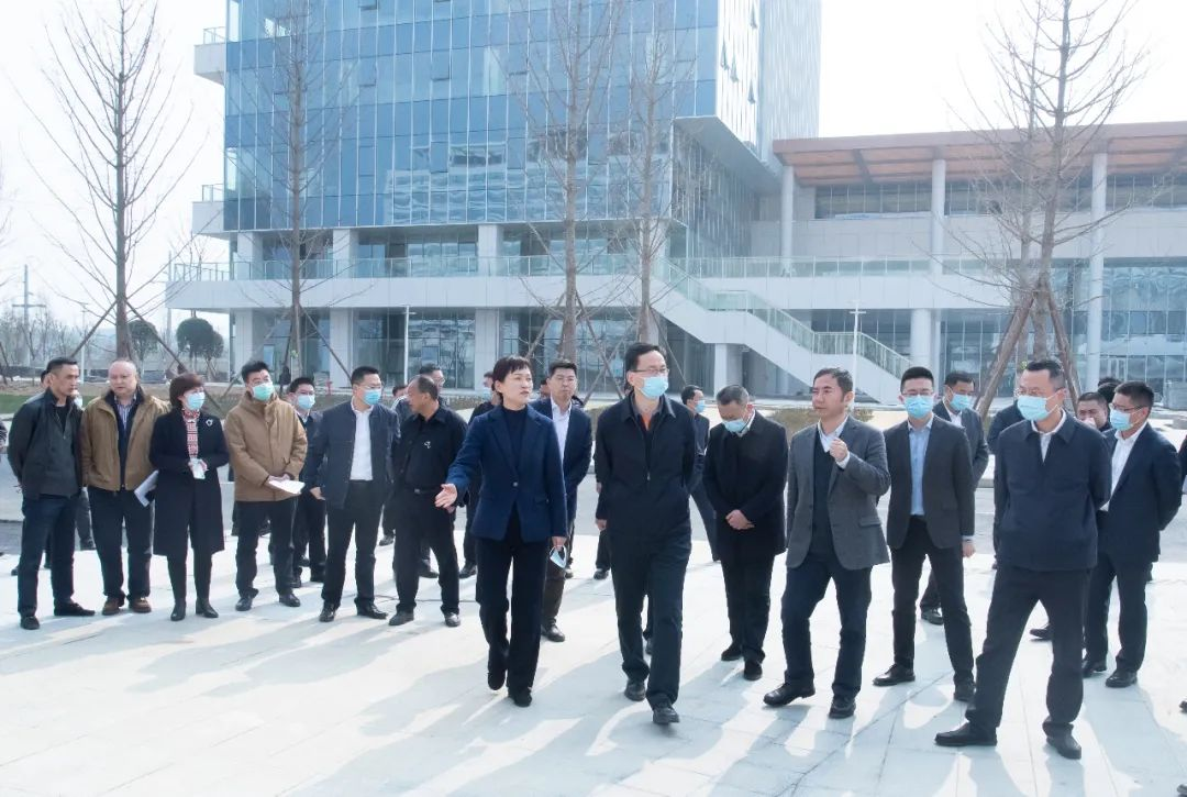 成都市委常委、高新区党工委书记方存好到成都京东方医院视察