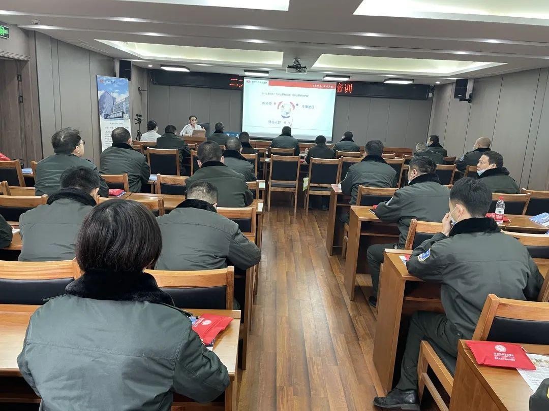 春运将至,重庆北部宽仁医院急诊科为重庆交通执法总队开展防护培训