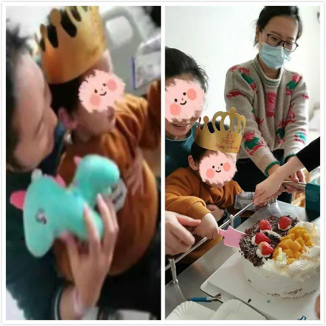 从病房传来的「生日快乐」