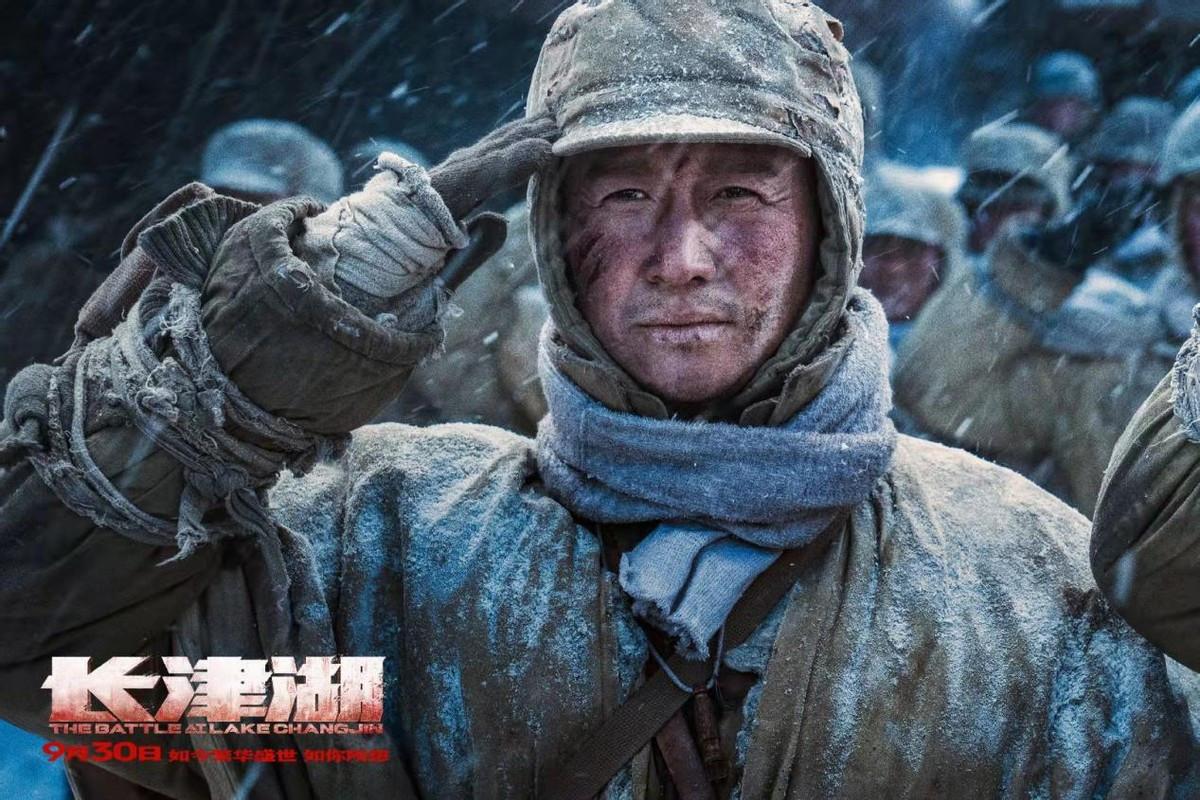 """《长津湖》里你看不到""""演员"""",只有一群铁骨铮铮的真汉子"""
