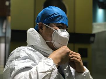 美中宜和医疗支援北京市新冠肺炎核酸采集工作