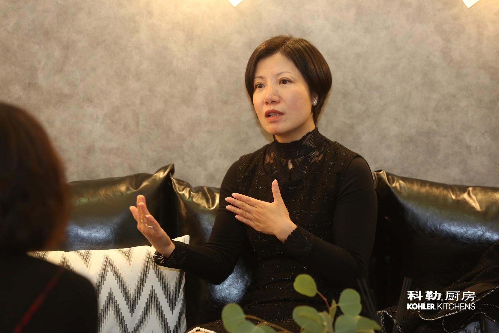 科勒中国整体橱柜部总经理王瑾竹女士