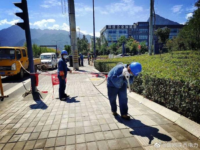 陕西秦岭科技产业园10千伏电源点新建工程开工
