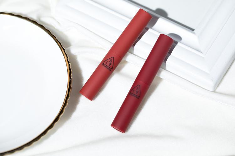 3CE烟管好评,红丝绒唇妆太好看  美妆种草  第2张