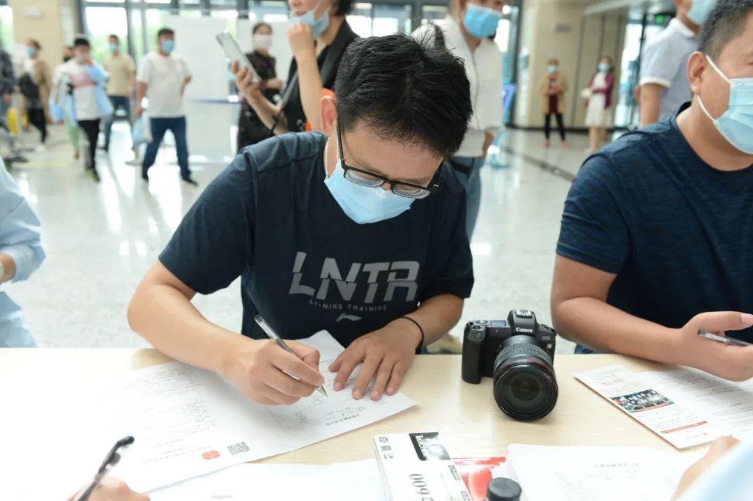 「点赞」3 个小时,107 名志愿者捐献了「生命的火种」~~~