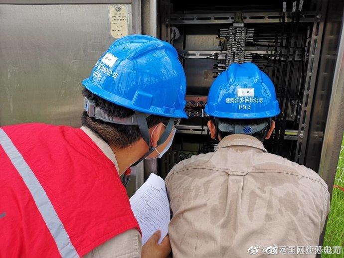 龙王山变电站开展站内检修工作