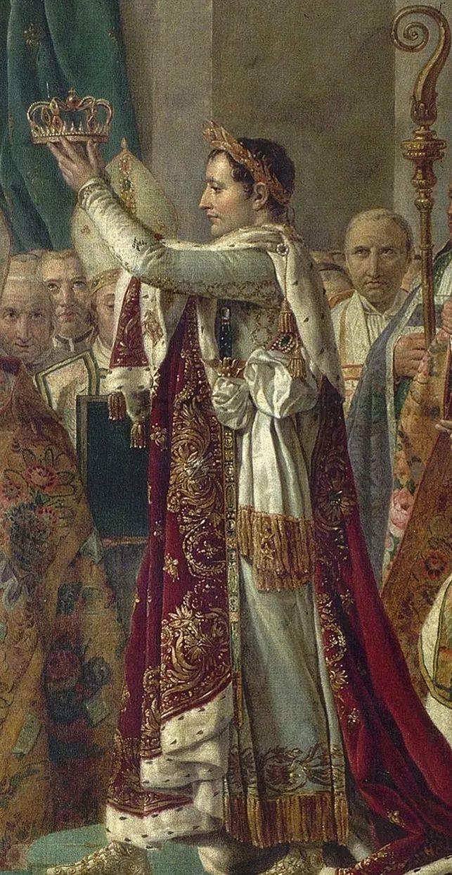 【拿破仑加冕】把皇冠夺过来自己戴上!