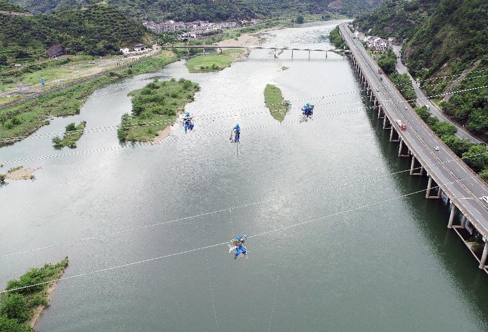 丽水青田-海口220千伏输电线路工程