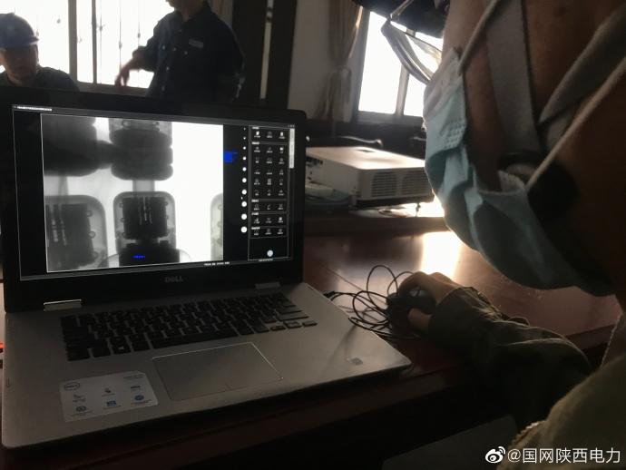 北郊变电站GIS设备开展X射线数字成像检测