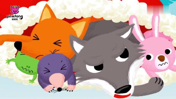 碰碰狐故事之圣诞儿歌系列 英文版——No.07 The Mitten