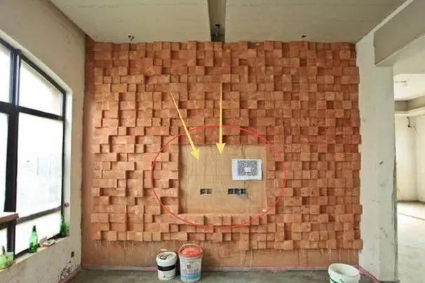 老公说要用木头装饰电视背景墙,我单纯的以为是禅意空间,草率了
