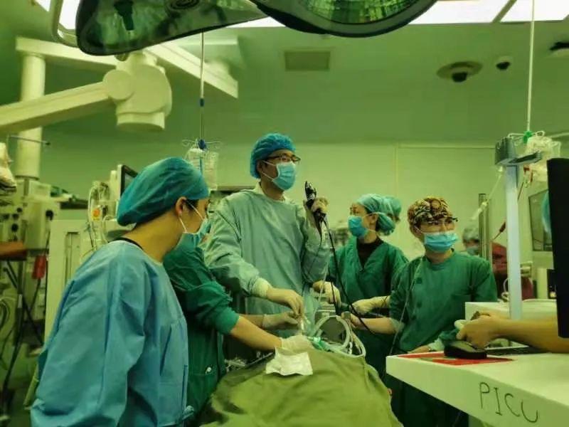 广西医科大一附院紧急救治肺出血肝病患儿,肝移植手术过程惊险