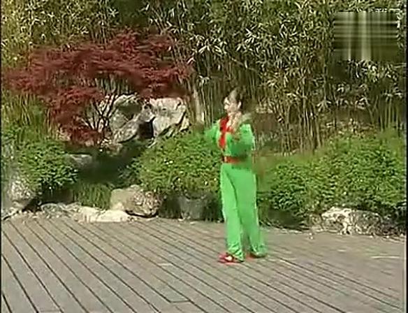 12、中国木兰拳——枯树盘根(鸳鸯刀)