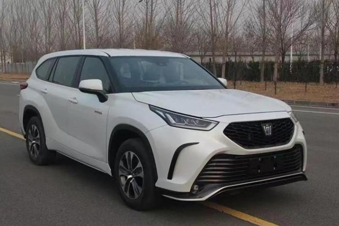 丰田皇冠SUV曝光,还有多款重磅新车即将引爆7座SUV市场