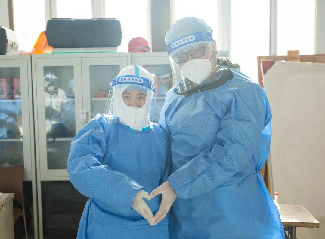 陆道培医院核酸检测队圆满完成任务