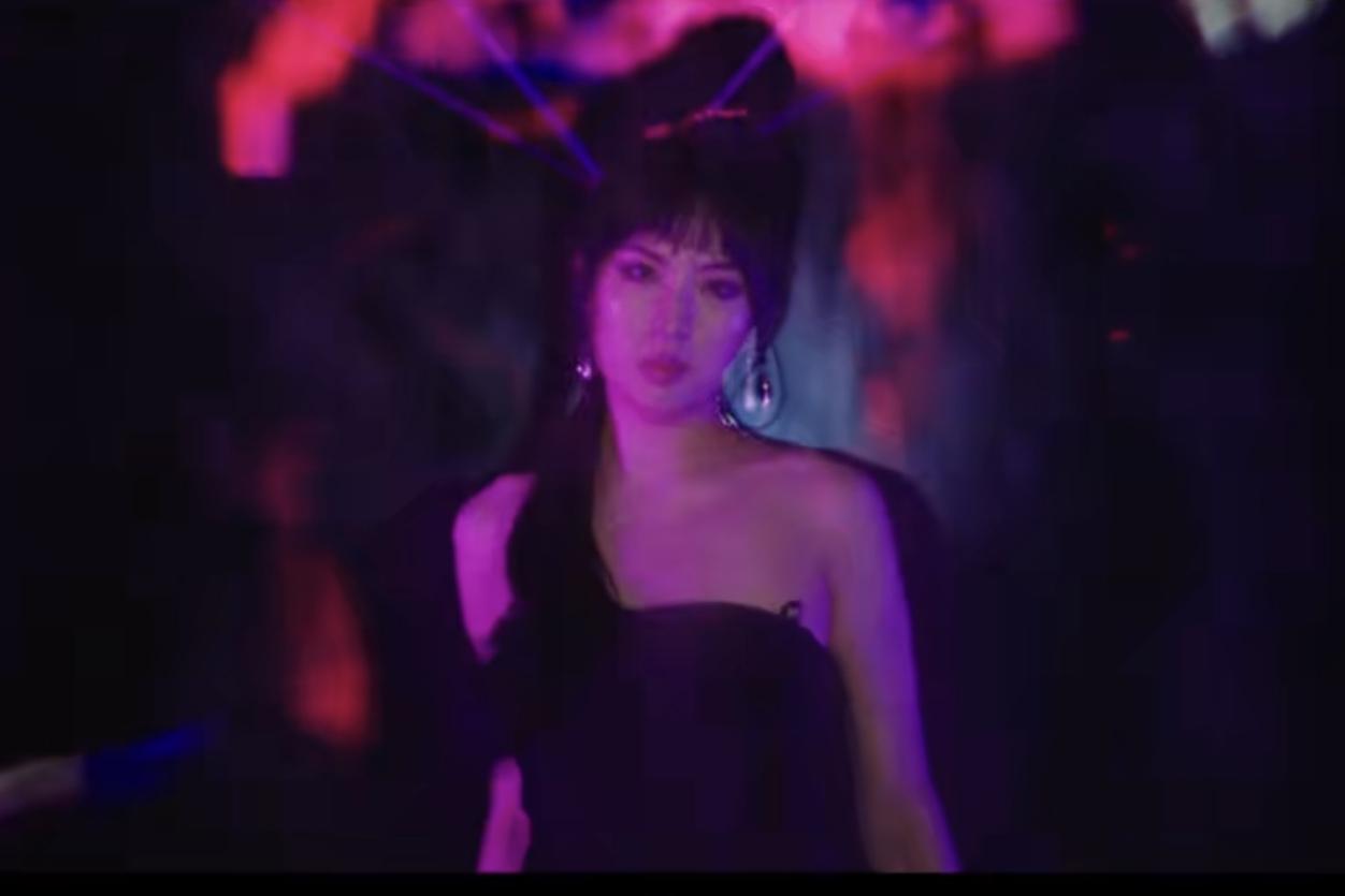姚安娜发布出道首支单曲《BackFire》