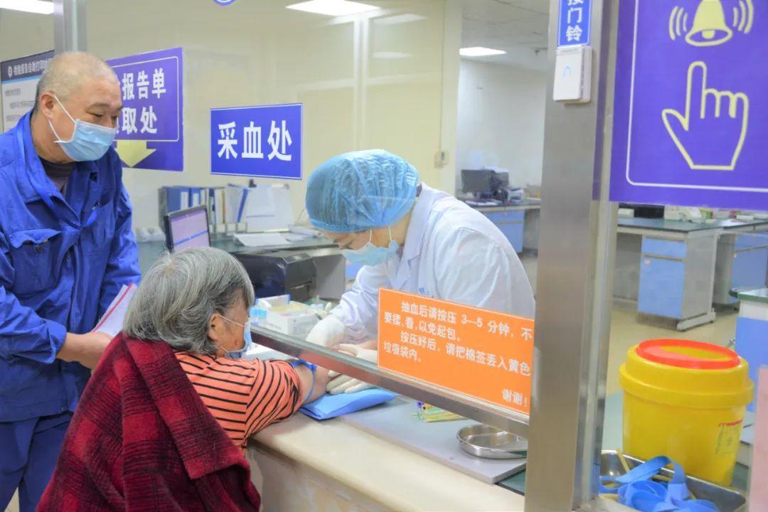 成都誉美医院关爱员工父母,免费体检