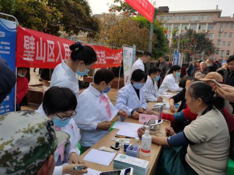 重庆市璧山区人民医院肾病内科举行世界肾脏病日义诊活动