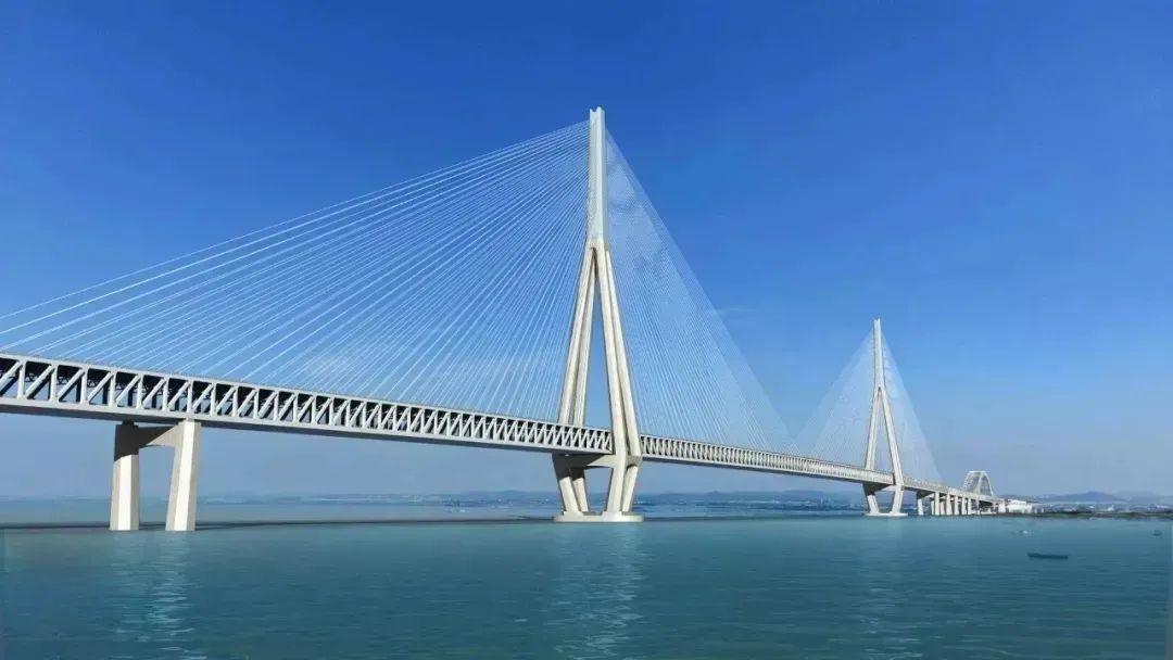 常泰长江大桥效果图