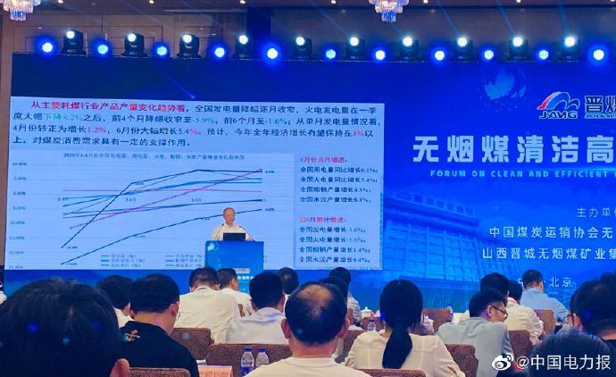 张宏:今年全年煤炭消费量与去年相比下降1%左右