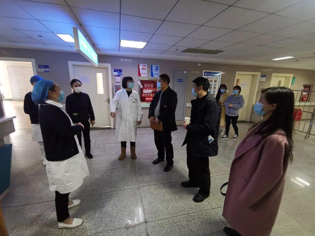 成都理工大学校医院院长一行来电子科技大学医院参观交流