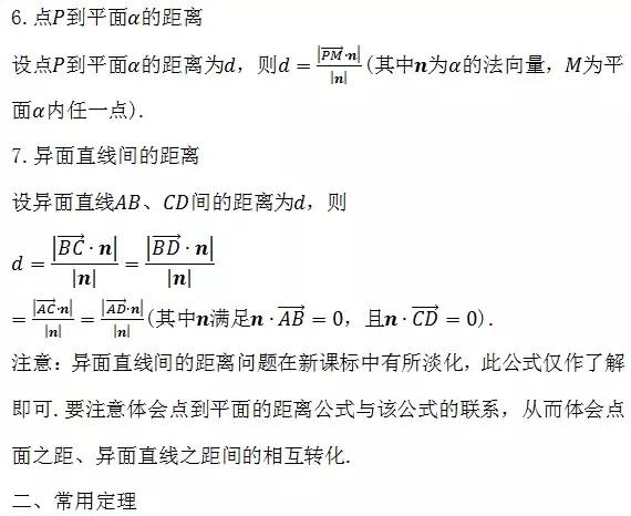 高中必背88个数学公式,高中数学高考必考题型