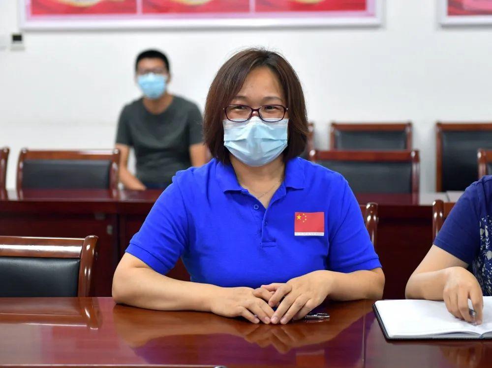 蓟州区人民医院为医院第四批援非医疗队成员高雅波壮行
