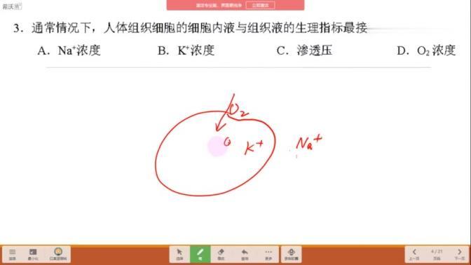 上海黄浦区2020生物等级考一模解析——第3题