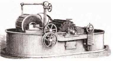 十八世纪的荷兰式打浆机