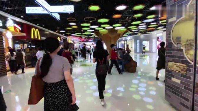 上海第一城市副中心,杨浦区五角场,整个五一黄金周冷冷清清