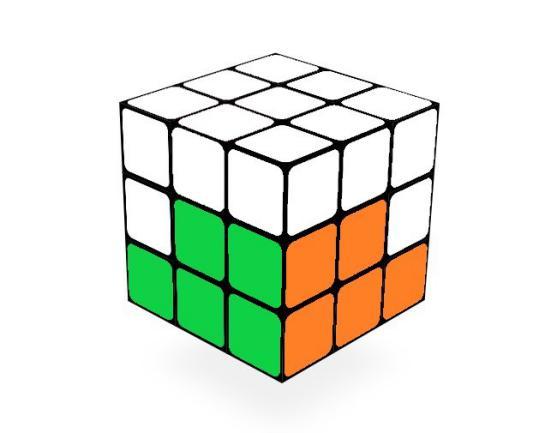 魔方第三层公式图解(3x3魔方口诀七步公式)