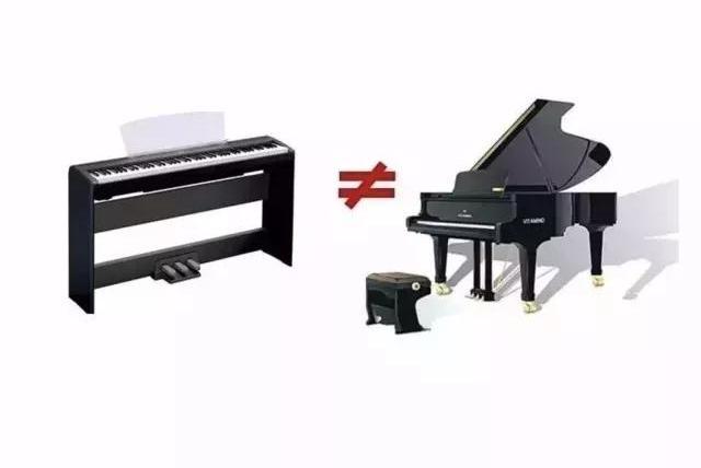用低价电子琴代替钢琴练习的严重危害